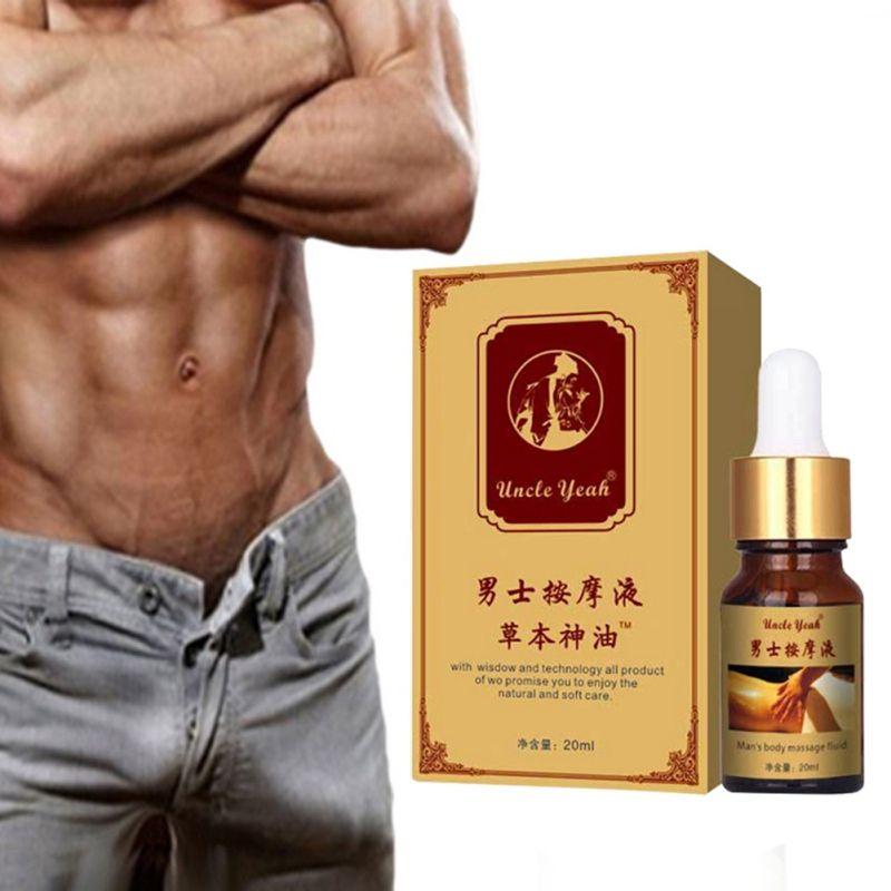 Les pilules de croissance épaississantes permanentes augmentent l'huile liquide Dick soins de santé pour hommes agrandir les huiles d'agrandissement de Massage chaudes!