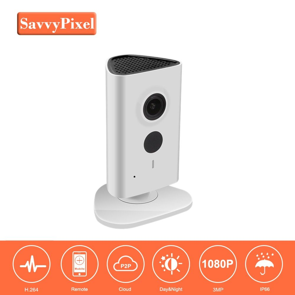 Original DaHua Home Security Wireless Camera IPC-C35 3MP Video Surveillance Night Security Camera Network Indoor Baby Monitor
