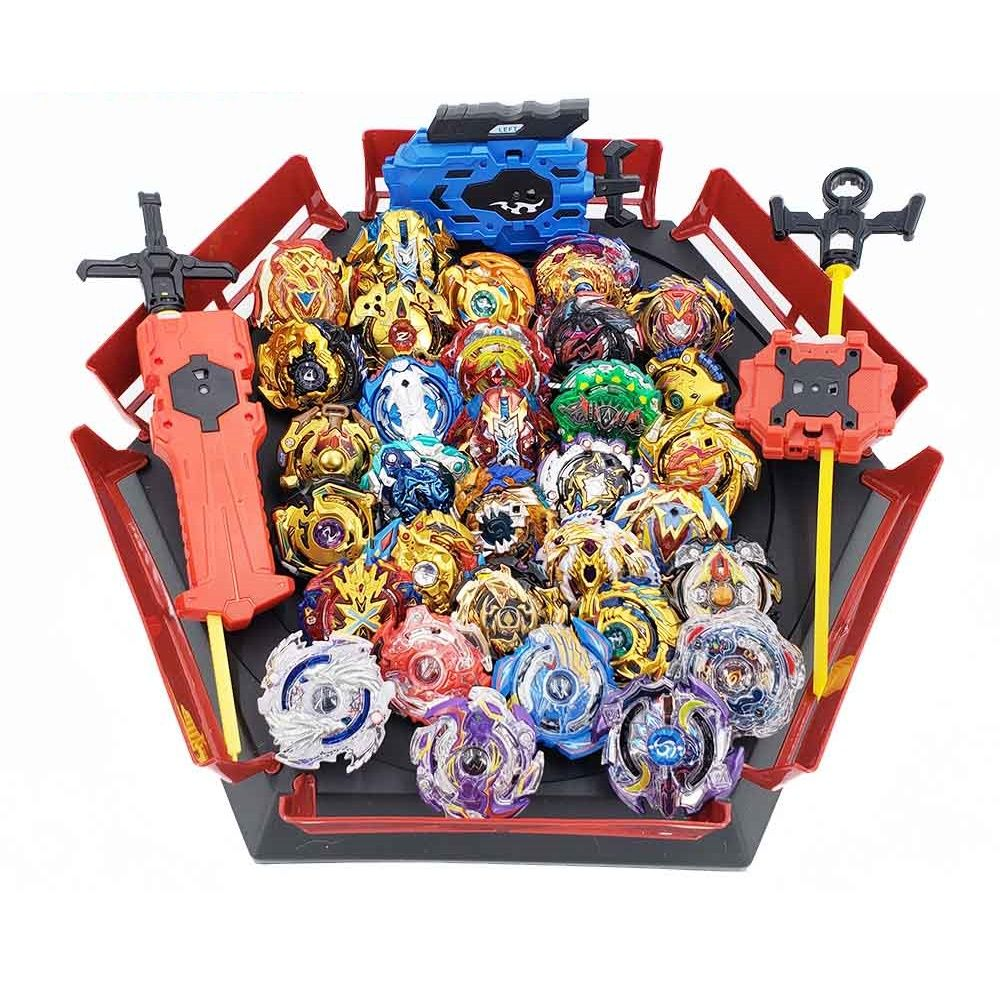 28 Style Beyblades Metal Set Box Top Burst Bey Blade Launcher Beyblade Toys for Children Boy