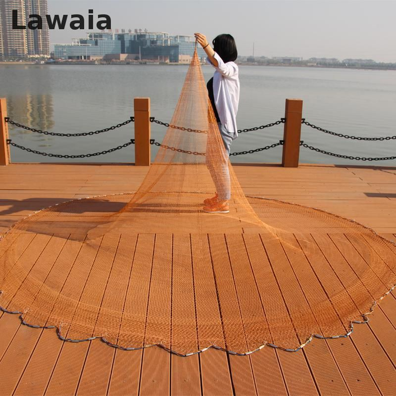 Lawaia Cast Nets for Fishing Wins American Net Fishing Nets Pull Rotary Bold Nets Fishing Tpie Casting Hand Brand Fishing