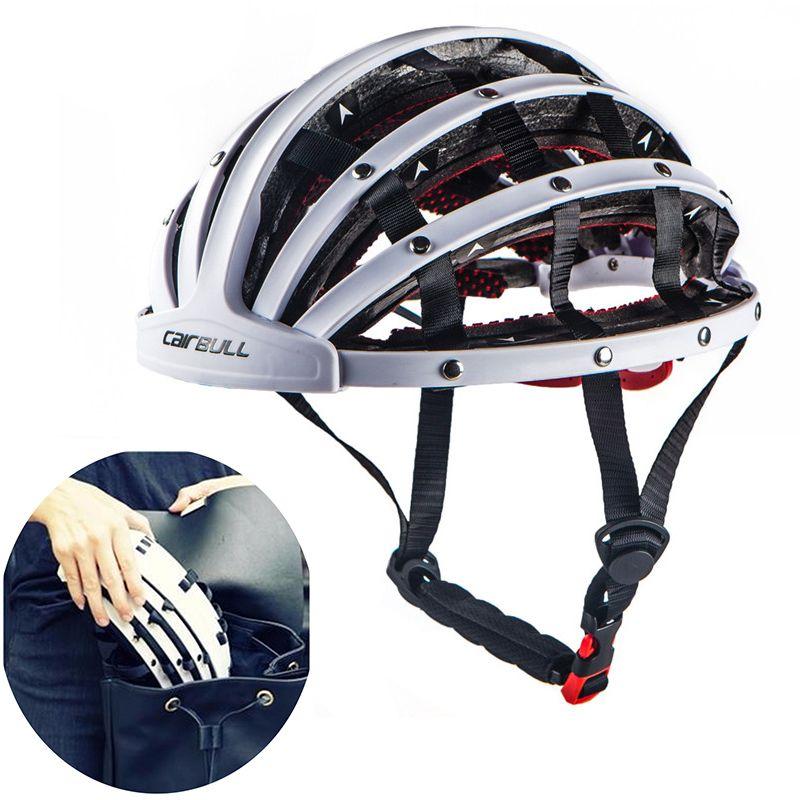 New 260g Foldable Road Bicycle Helmet lightweight Portable Cycling Bike Helmet City Bike Sports Safety Leisure Riding Helmet