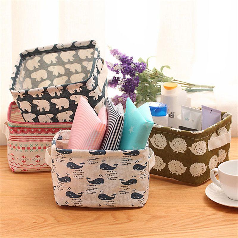 Utilitaire frais étudiant papeterie panier à linge bébé jouets sac de rangement pli pique-nique poche boîte de rangement organisateur conteneur