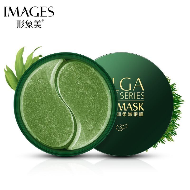 60 pièces D'algues Masque Pour Les Yeux Hydratant Nourrissant D'hydratation Patchs Oculaires Foncé Dircles Supprimer Rides Soins De La Peau