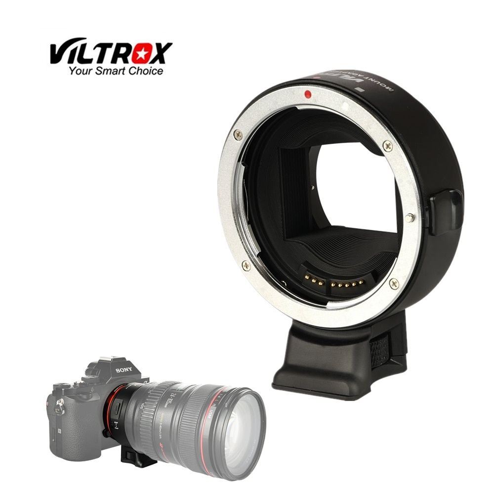 Viltrox EF-NEX IV AF Auto Focus Lens Adapter Tube Ring For Canon EF EF-S lens to Sony E Mount A7RIII A7S II A9 A6500 NEX7 A6300