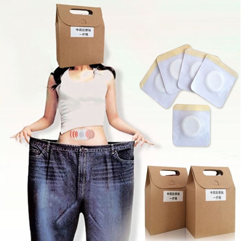 40Pcs Slimming Patch Health Care Traditional Chinese Medicine Navel Stick Slim Patch Lose Weight Patch Fat Burning Z4