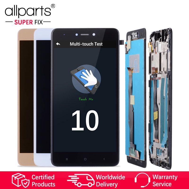 Snapdragon 625 Affichage D'origine Pour XIAOMI Redmi Note 4X LCD Écran Tactile Avec Cadre Pour Redmi Note 4X LCD Affichage remplacement