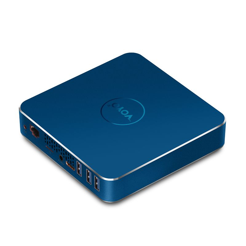 Freies Verschiffen VOYO Pocket PC Intel Apollo N4200 Lizenz Windows 10 8 GB DDR3L RAM + 120 GB SSD USB3.0 4 Karat HD ausgang VMac Mini PC