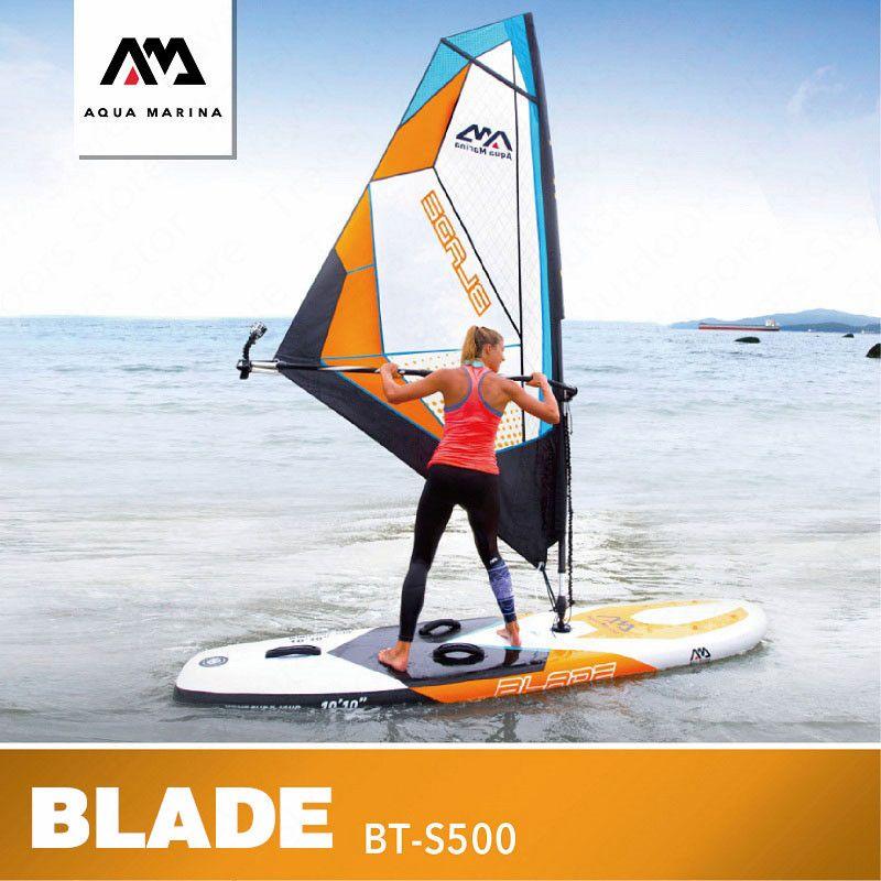 AQUA MARINA KLINGE Surfbrett Wind Surf Surfingboard Sup Paddle Board Aufblasbare Surfbrett Stand Up Paddle Board Surf Kiteboard