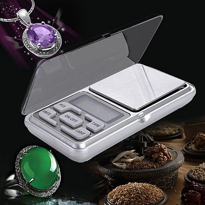 Nouveau Portable Poids 500g Précision 0.1g Électronique Mini Digital Scale Pocket Weight Balance Poids Bijoux Partical Échelles RH
