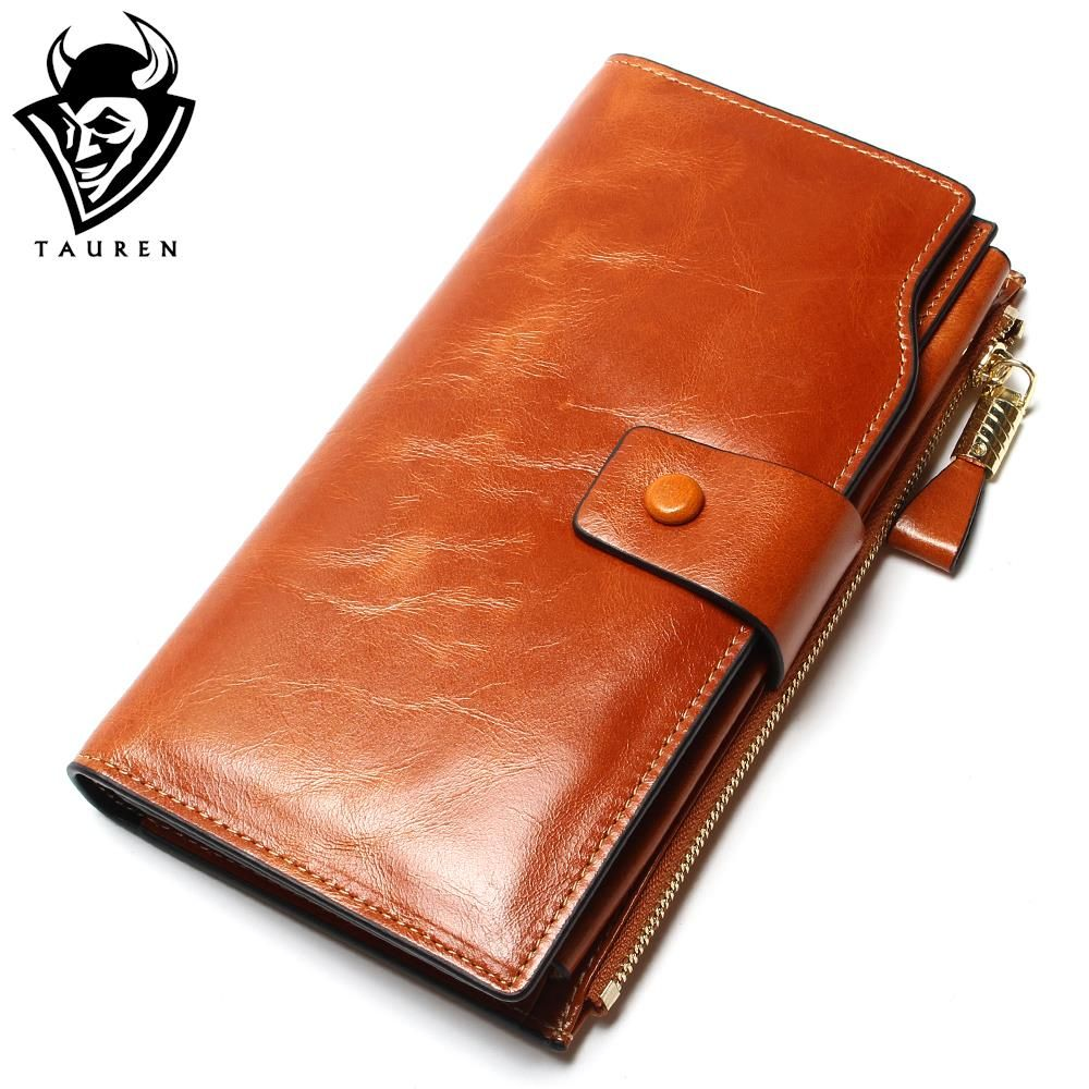 2018 New Design Fashion Multifunctional Purse <font><b>Genuine</b></font> Leather Wallet Women Long Style Cowhide Purse Wholesale And Retail Bag