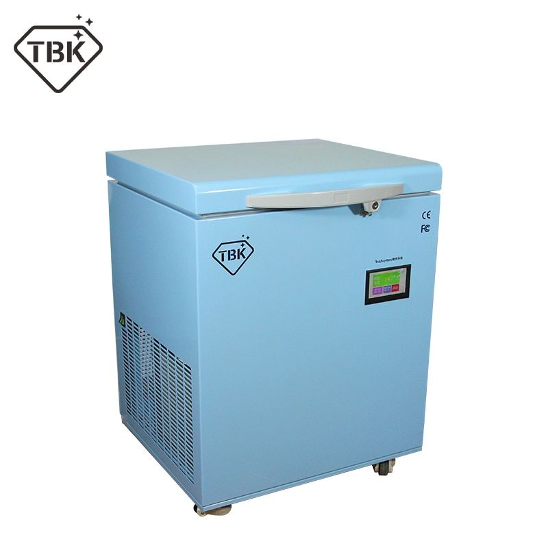 -180C Gefrorene separator professionelle masse Einfrieren Maschine TBK-598 für Samsung rand iPhone X LCD Touch Screen Trenn Maschine