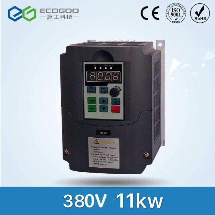11KW/3 Phase 380 V/25A Frequenzumrichter-Freies Verschiffen-Shenzhen vektorregelung 11KW frequenzumrichter/Vfd 11KW