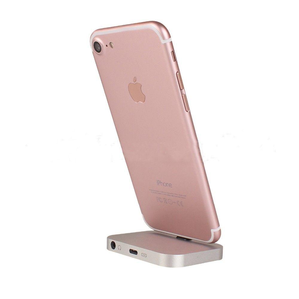 Dock Chargeur Data sync Station D'accueil De Charge Station D'accueil Stand Avec écouteur Jack Connecteur Pour iPhone 5 SE 6 6 s 7 7 Plus