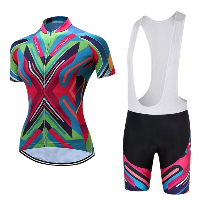 Professional & Pro Team Cycling Clothes 2018 Women Road Bike Clothing Skinsuit Female MTB Bicycle Jersey Maillot Uniform Wear