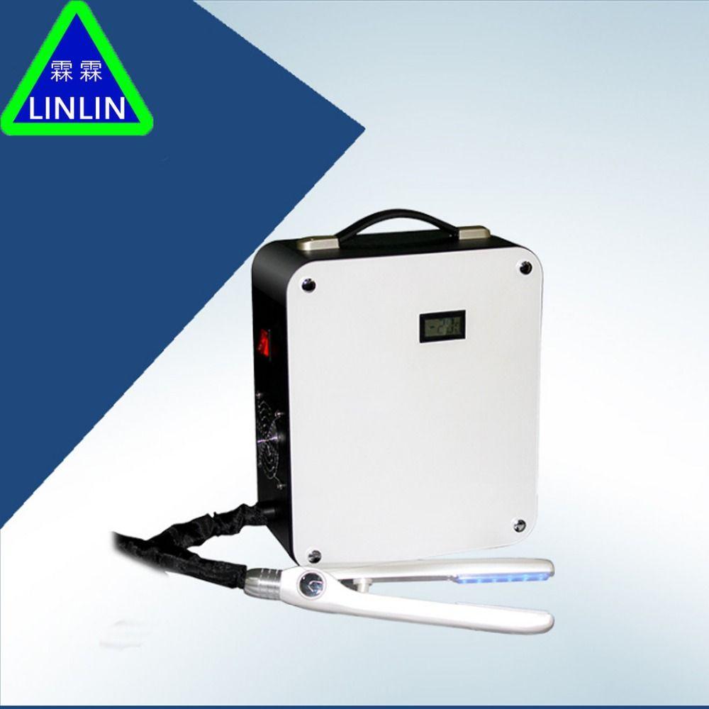 LINLIN Eis-versiegelt Blu-ray LED Haar Protector Eis-versiegelt Haar Protector Eis clip therapie upgrade Reparatur und wachsen pflege