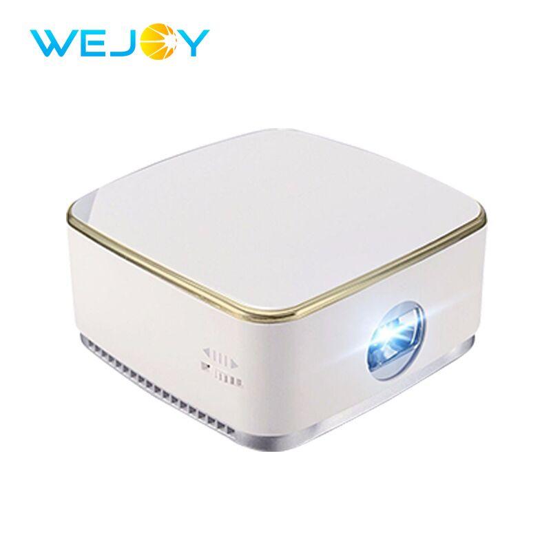 Wejoy Portable LED Mini Projector DL-S8+ Android 7.1 Pocket Projetor DLP Beamer Mobile Phone Proyector Portatil HD Home Cinema