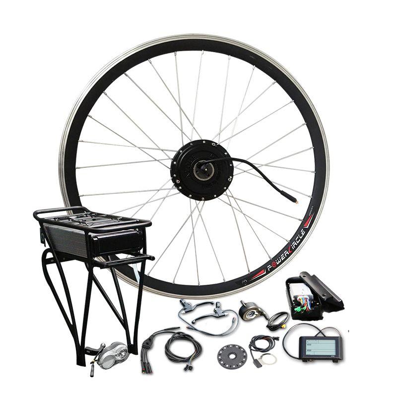 36 V 350 W 500 W Hinten Rack Batterie mit LCD900 Display Elektrische Motor Fahrrad Conversion Kit Hinten Träger zelle für MTB Straße Teile