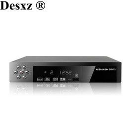 Desxz HD Digital Terrestrial Receive DVB-T2 Support MP3 MPEG4 Format Digital TV BOX Universal tv Tuner TV Receiver dvbt2 Russia