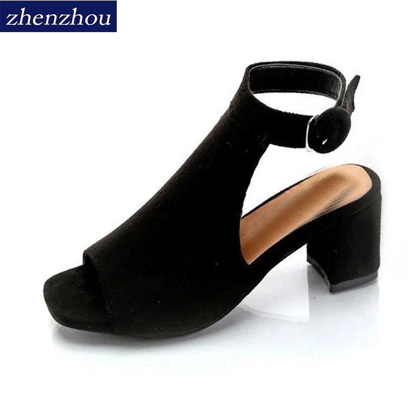 Бесплатная доставка женская обувь 2017 брендовые из органической кожи на высоком каблуке сандалии матовое с открытый носок пикантные женски...