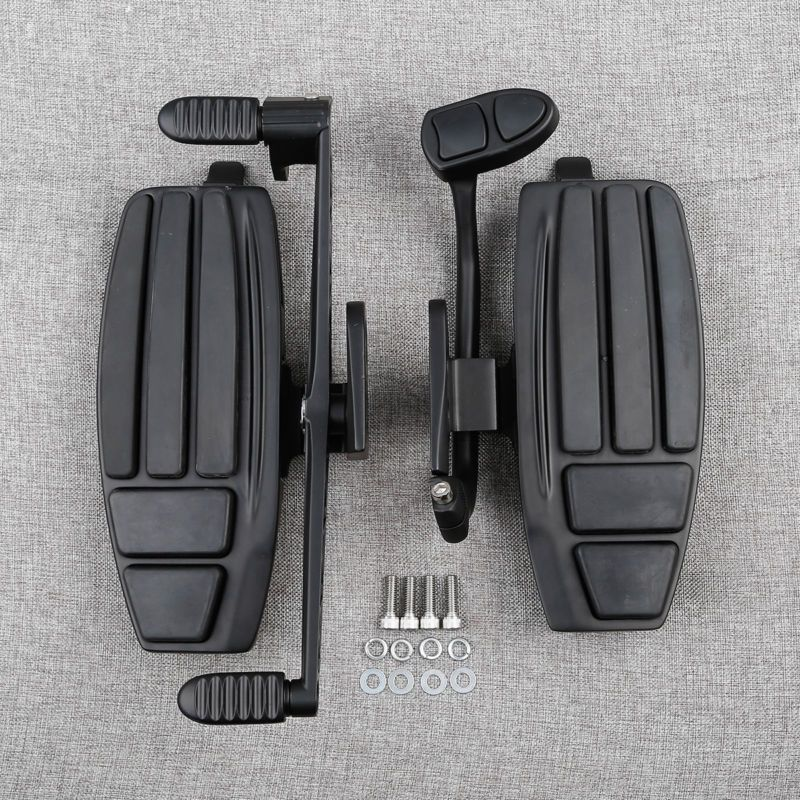 Front Floorboard Driver Foot Pedal Board Kit For Honda GL1800 F6B 01-17 Valkyrie 14-15 Free Shipping