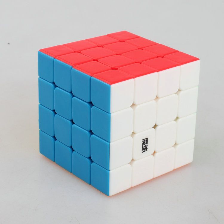 YONGJUN MOYU Aosu Magic Cube 4*4*4 Plastic Magic Cube Professional Competition Super Smoothness 4 Magic Cube
