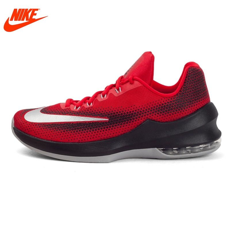 Original New Arrival 2017 NIKE AIR MAX INFURIATE LOW EP Men's Breathable Basketball Shoes Sneakers
