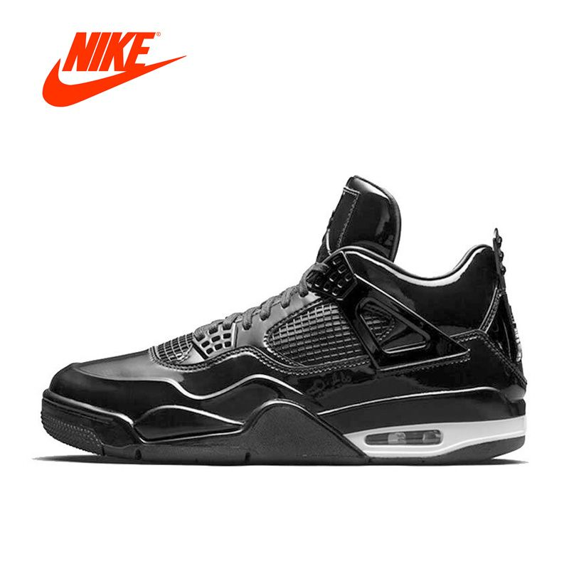 Новинка Аутентичные Nike Air Jordan 4 Lab4 AJ4 Для мужчин дышащие Баскетбольные кеды спортивные Спортивная обувь