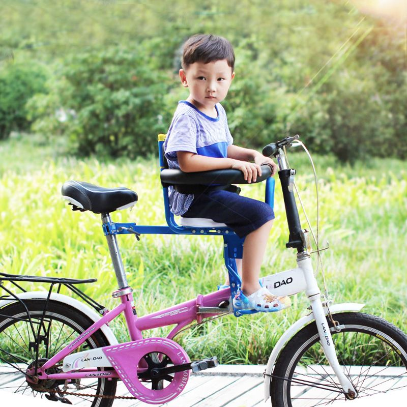 2017 Time-limited Hot Sale Baby Chair Children Bicycle Seats Electric <font><b>Mountain</b></font> Bike Front Baby Seat Belt Quick Release Chair