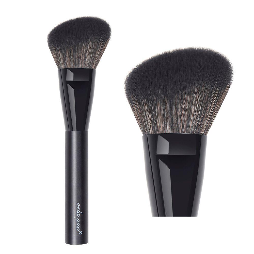 Vela. yue Grand Angle Pinceau Blush Poudre Pour Le Visage Blush Bronzer Surligneur Sculpture Contour Maquillage Brosse