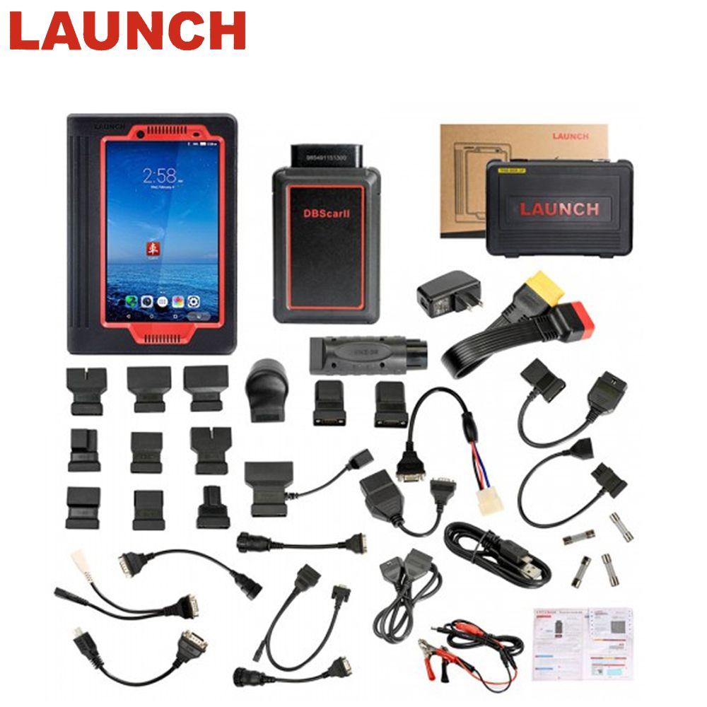 Starten X431 V 8 zoll Wifi/Bluetooth Diagnose werkzeug Volle System X-431 V Scanner Unterstützung Multi-Sprache Online update freies verschiffen