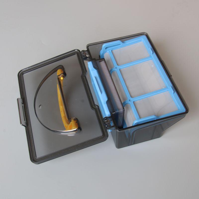 D'origine Poussière Boîte Bin pour Ilife V50 Robot Aspirateur Pièces Accessoires Hepa Filtre X1 + Efficace Hepa Filtre X1