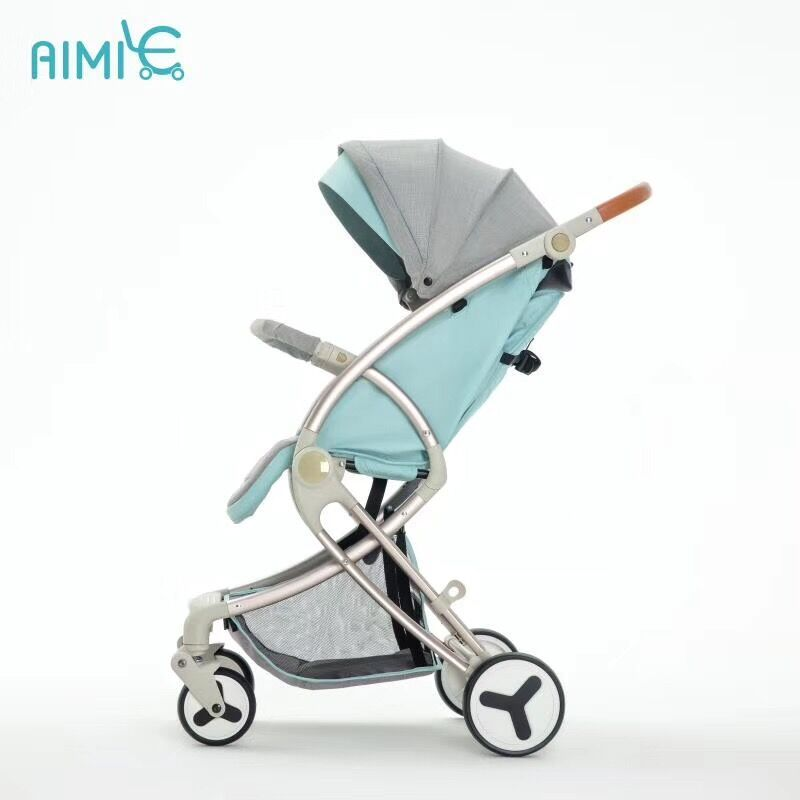 teknum baby stroller light folding umbrella car can sit can lie ultra-light portable on the airplane