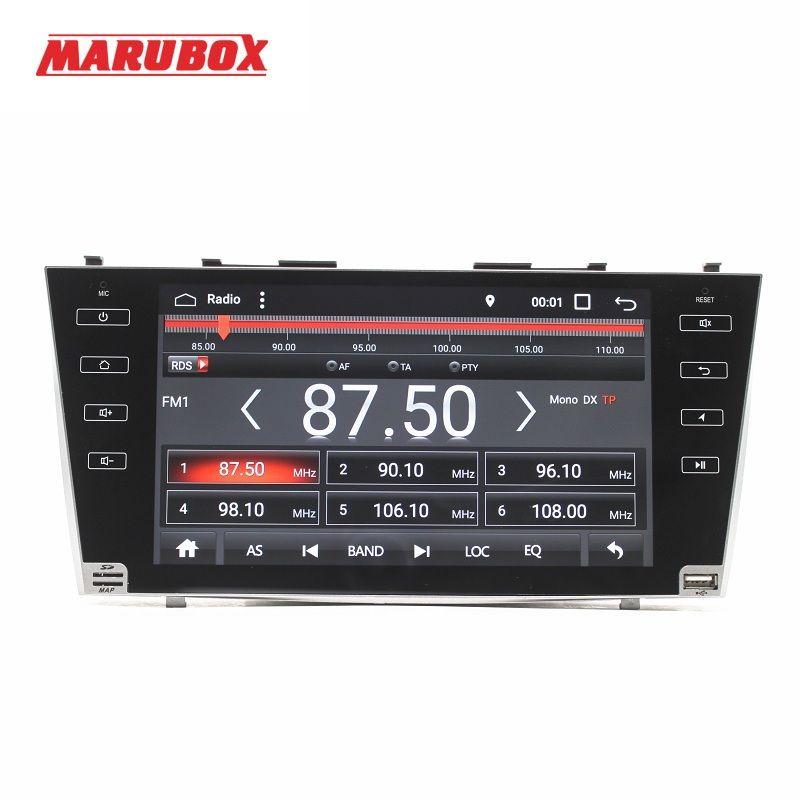 MARUBOX M9A103A4, Car Multimedia Player For TOYOTA CAMRY, 9'' HD touch Screen steering-wheel BT Radio GPS 2GB RAM, 32GB ROM