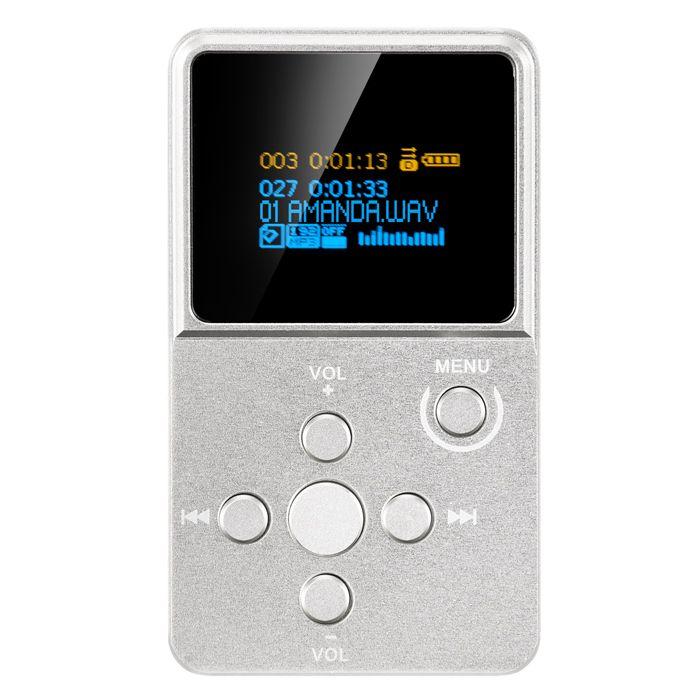 Neueste XDUOO X2 High Fidelity Verlustfreie Protable Musik Player HIFI Mini Mp3 Mit OLED Bildschirm Unterstützung MP3 WMA APE FLAC WAV Format