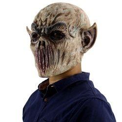 Праздничные вечерние принадлежности латексная маска на Хэллоуин страшные маски латексная маска с шапкой для карнавальный на Хэллоуин футб...