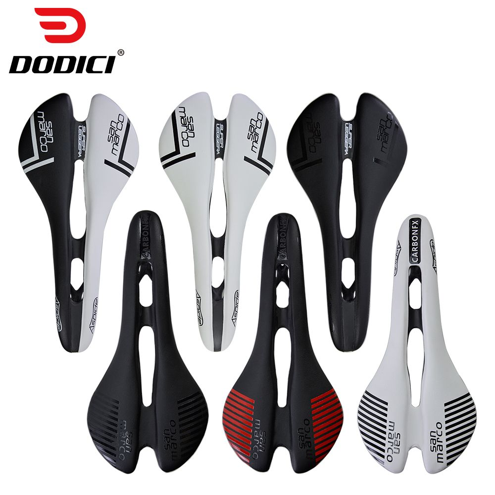 San Marco aspide Carbon saddle Chair Lightweight Carbon Fiber Leather saddle Road Bike MTB Bicycle Saddles Seat Cycling Cushion