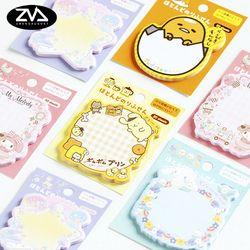 1X Japon sanrio de note collante Post Bloc-Notes Kawaii Fournitures Scolaires Planificateur Autocollants Papier Signets Papeterie Coréenne