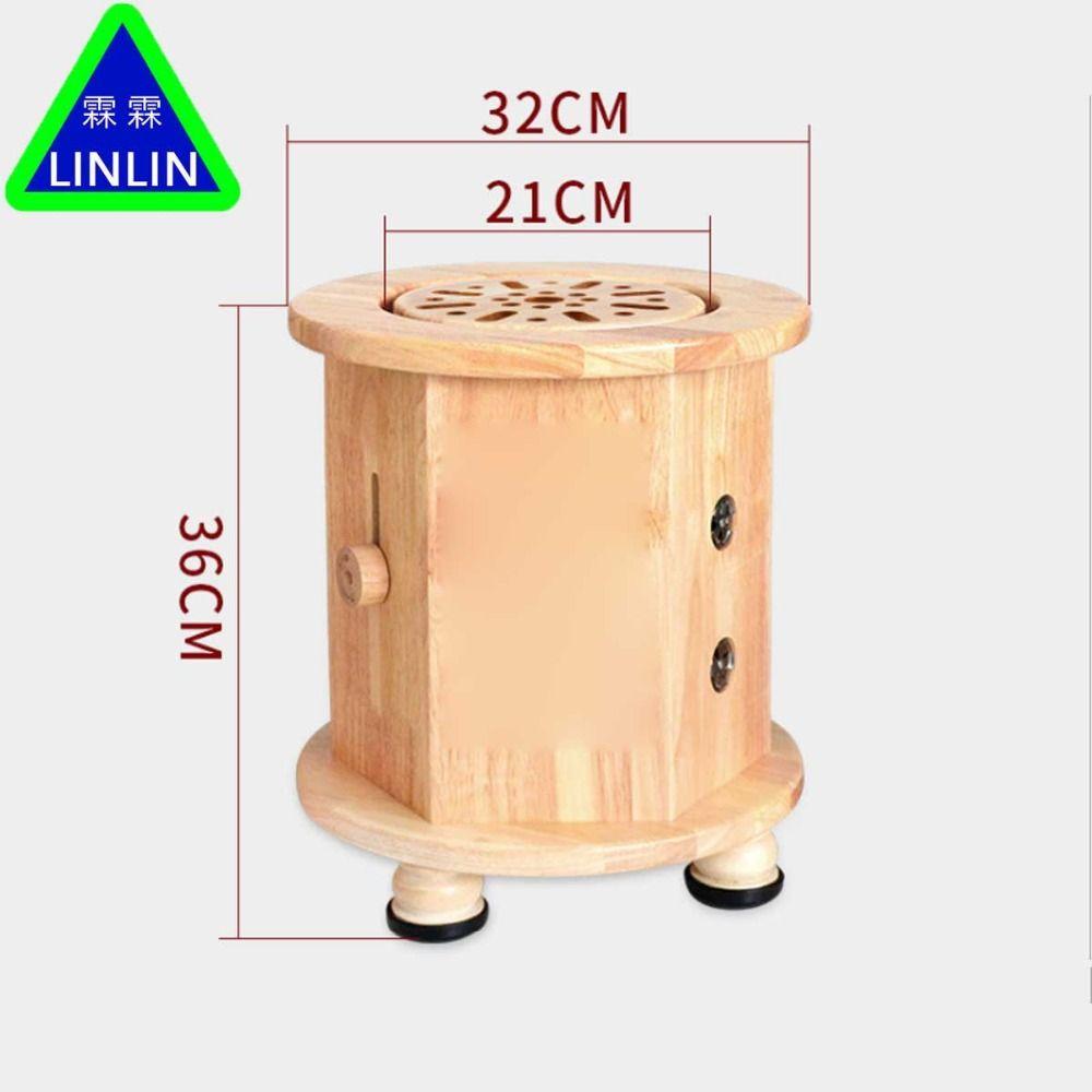 LINLIN Eiche system Akupunktur und massage bank Erwärmung moxibustion gerät Haushalt Aizhu Block Geraucht stuhl rauchfreien