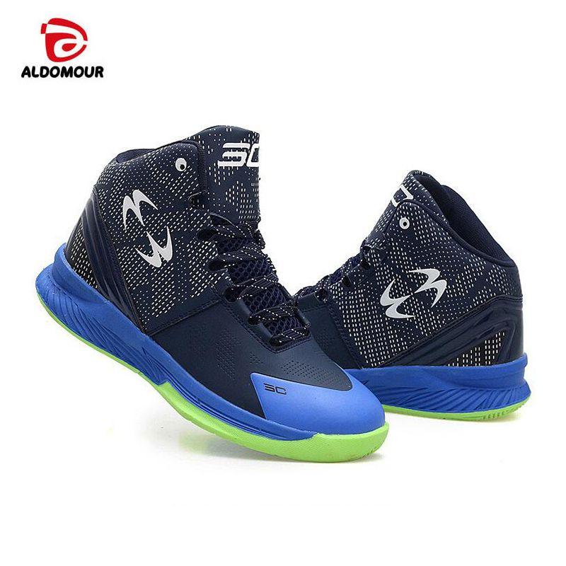 ALDOMOUR 2018 Men's High Quality Sneakers Basket Homme Zapatillas De Baloncesto PU Basketball Boots outdoor Basketball Shoes