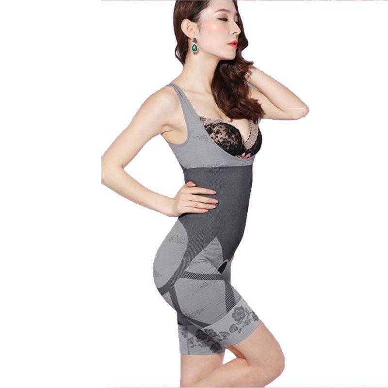 CR Femmes de Haute Qualité Mince Corset Costumes Minceur Body Shaper De Charbon De Bois Sculpture Sous-Vêtements 6 Taille Minceur Sous-Vêtements
