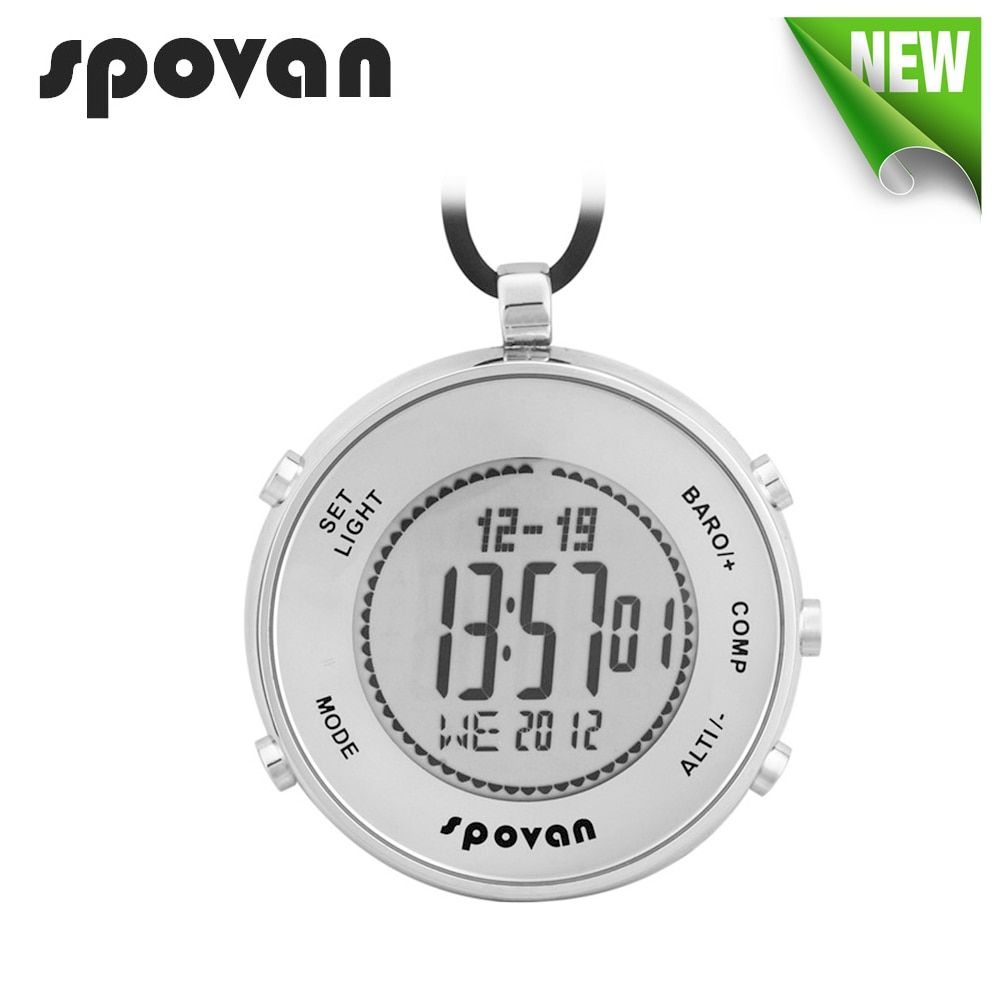 SPOVAN Watch for Sports, Military. Digital Watches, Pocket Watch Waterproof, Altimeter/Compass/Thermometer/Dual time Elementum1