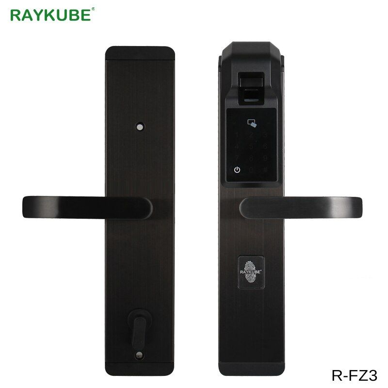 RAYKUBE Digit Fingerprint Türschloss Keyless Entry Smart Anti-theft Lock Für Home Security Mit RFID Reader R-FZ3