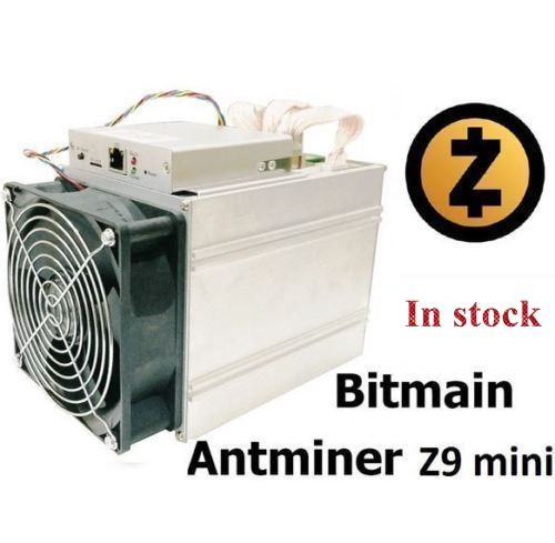 Ship in 24 hours Newest ZCASH Miner Bitmain Antminer Z9 Mini 10k Sol/s 300W Asic Equihash Miner With 750W Power Supply
