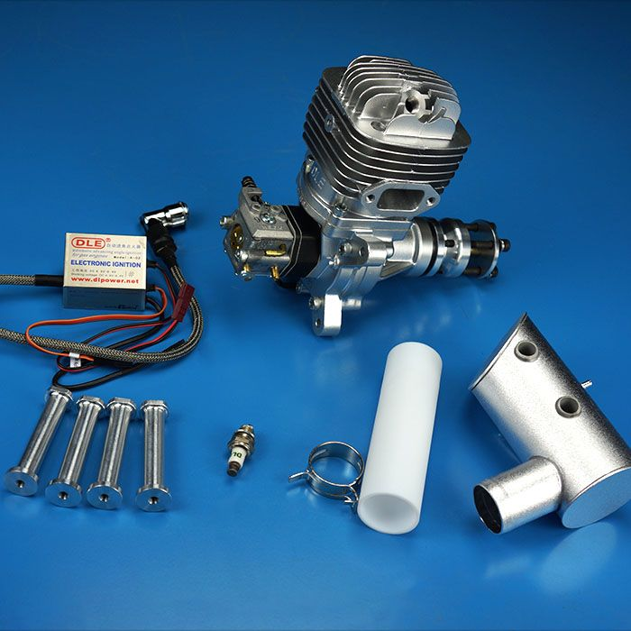 DLE 61cc DLE61 original 2-streicht GAS Engine Für RC Flugzeug Modell Teile heißer verkauf, DLE-61, DLE61cc, DLE