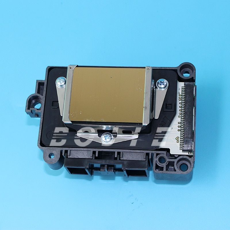 for epson second lock F1890010 dx7 printhead with gold surface