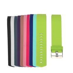 S Taille 21 cm Silicone Bracelet Bracelet Bande Remplacer Smart Bracelet Bretelles Bandes avec Boucle pour Fitbit Charge 2 Smart montre