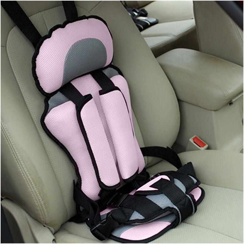 Младенческой безопасное место портативный сиденье безопасности ребенка детские стулья обновленная версия утолщение Губка дети автокресл...