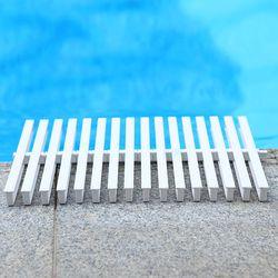 1 meter kolam renang air jaringan jaringan slip-tahan kisi sink menguras bargeboard penutup ukuran 15 cm, 18 cm, 20 cm, 25 cm dan 30 cm lengh
