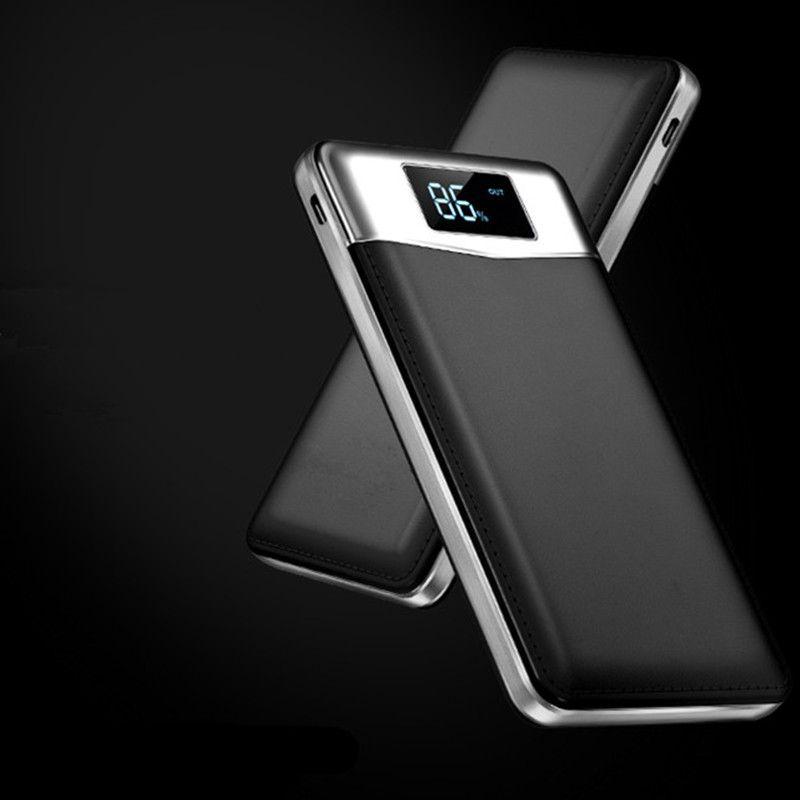 18650 Запасные Аккумуляторы для телефонов 20000 мАч внешний Батарея Портативный мобильного телефона Зарядное устройство Универсальный двойной...