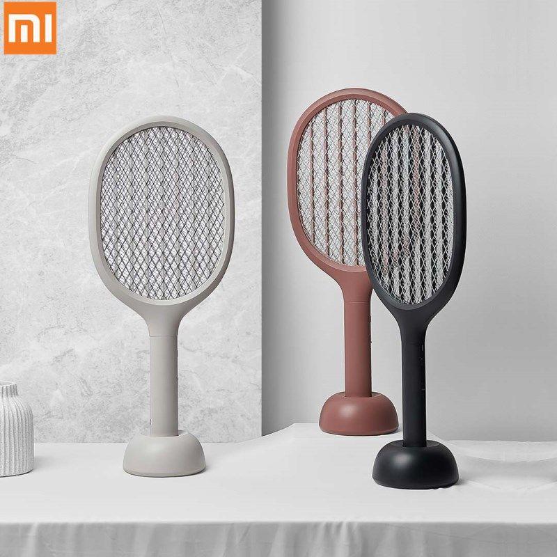 Xiaomi Mijia Solove P1 Elektrische UV Moskito-klatsche Insekten Bug Fly Moskito Dispeller 360nm Doppel Größe Anti-elektrische Schock net